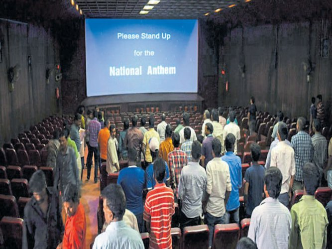 Audience need not stand when National Anthem played in film: SC