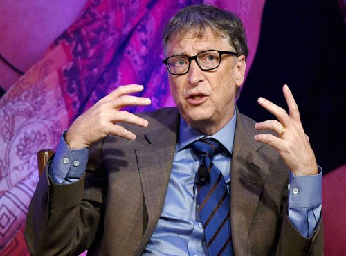 Bill Gates opens account in Chinese social media
