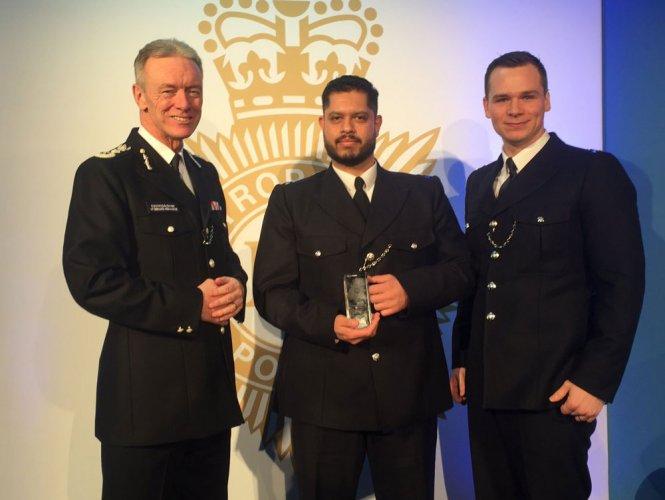 Indian-origin Scotland Yard officer wins bravery award