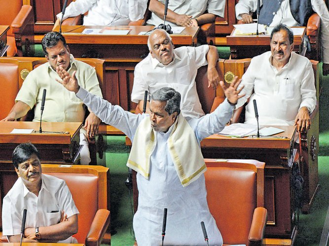 Stormy end to session as Cong, BJP spar in House