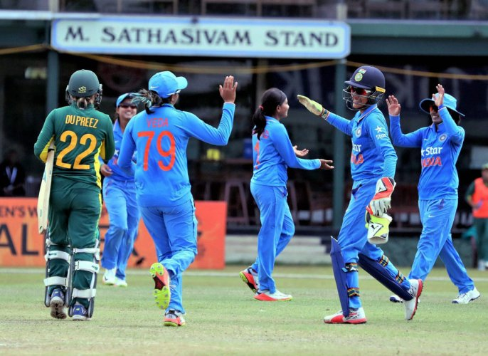 India beat South Africa in Women's World Cup Qualifiers
