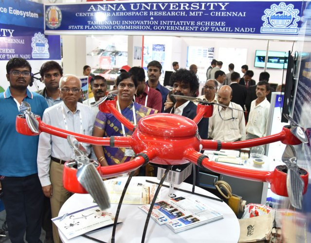 Anna varsity team scouts for commercial orders for UAVs