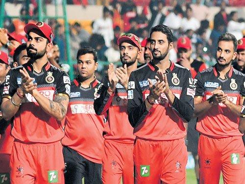 RCB meet Sunrisers in IPL opening tie