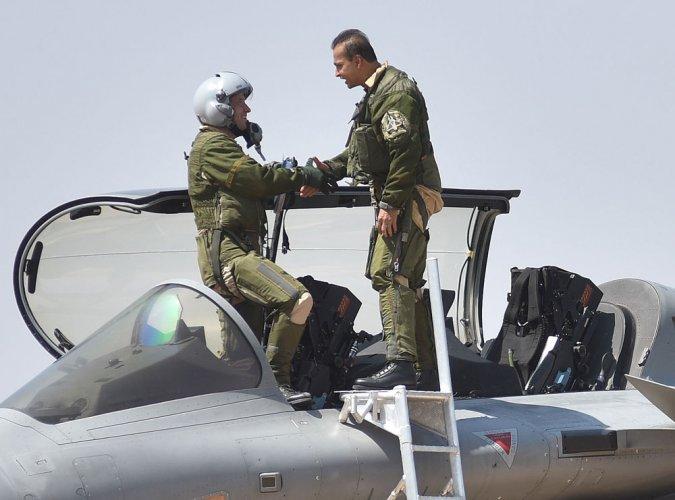 Anil Ambani flies sortie in Rafale fighter aircraft at Aero India