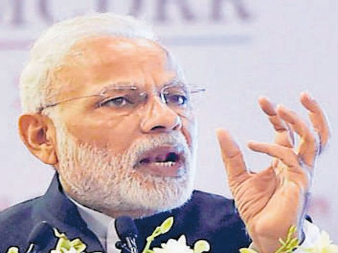 I am 'adopted son' of UP, says PM Modi