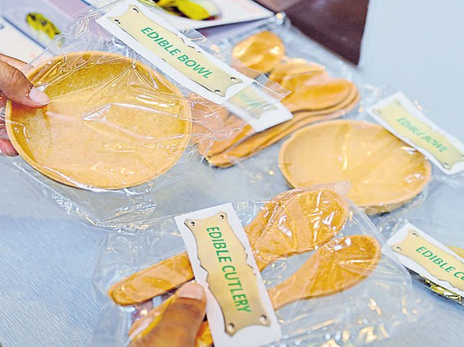 DFRL develops edible cutlery for forces