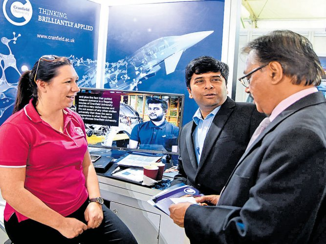 Stalls offer insight into aerospace, defence courses