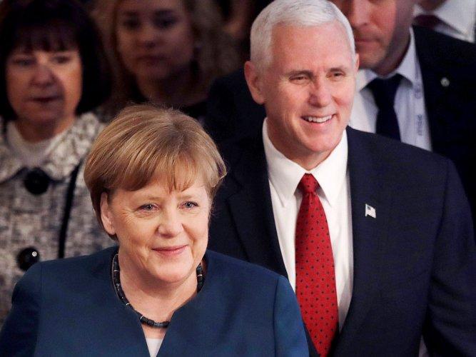 Germany's Merkel to US: uphold, strengthen multilateralism
