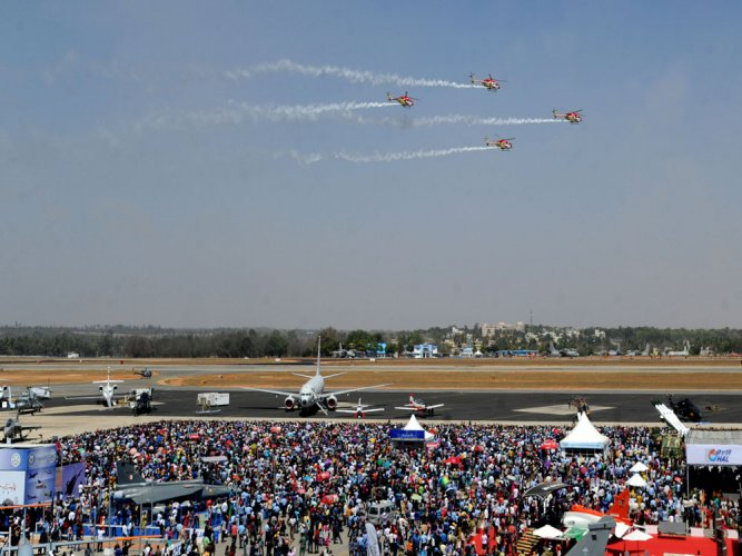 Aero India show concludes with soaring crowds