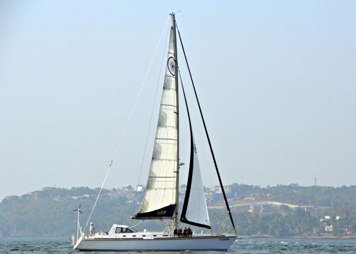 Indian Navy inducts second sailboat 'Tarini'