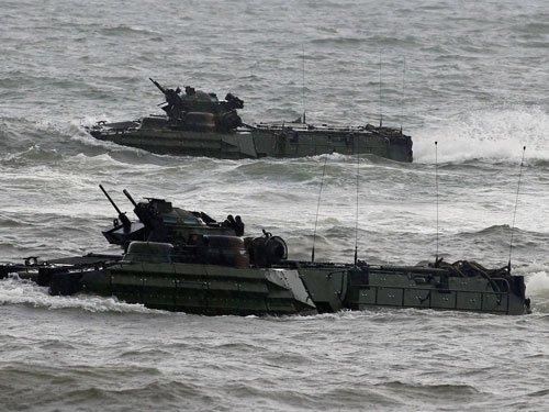 US Navy's Carrier Strike group starts patrolling in SCS