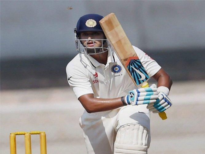 Shreyas' unbeaten fifty leads hosts' reply