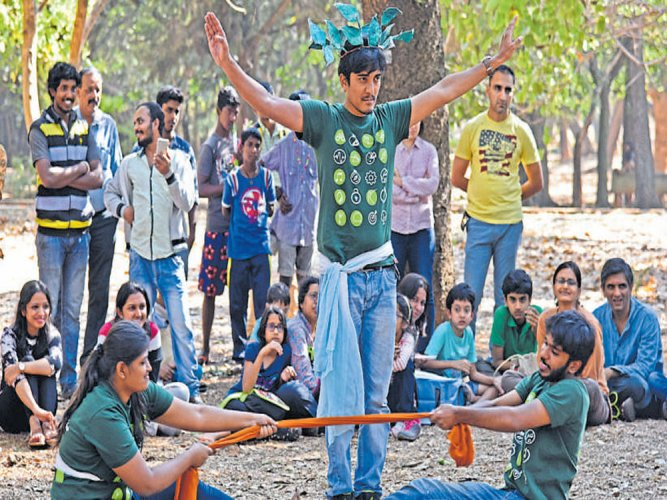Fun activities mark start of Neralu tree fest