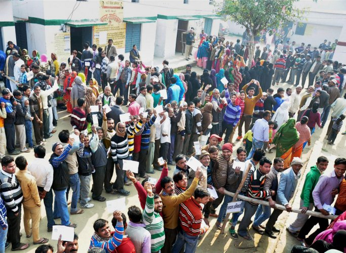 61.16 pc turnout in UP ph-3; polling by and large peaceful