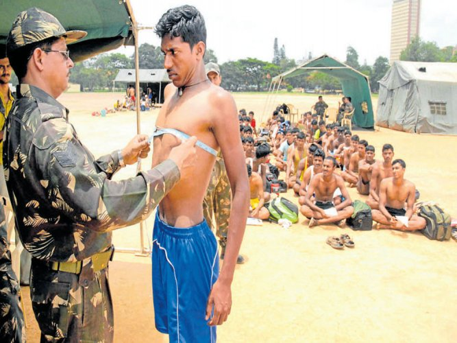 Govt to prepare state's youths for Army's tough recruitment rallies
