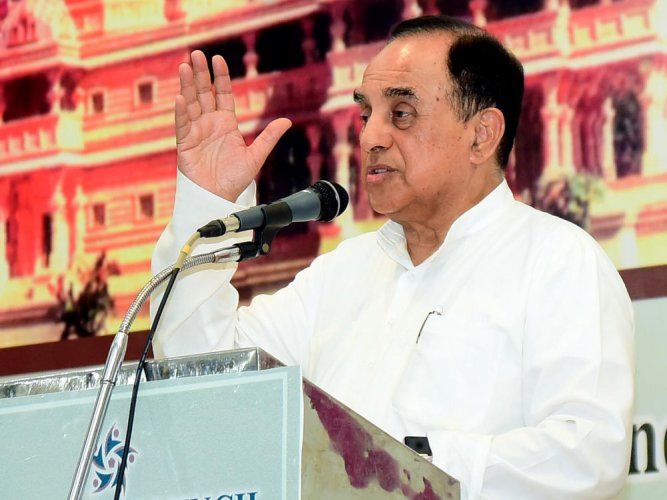 PC's son holds foreign accounts illegally: Swamy