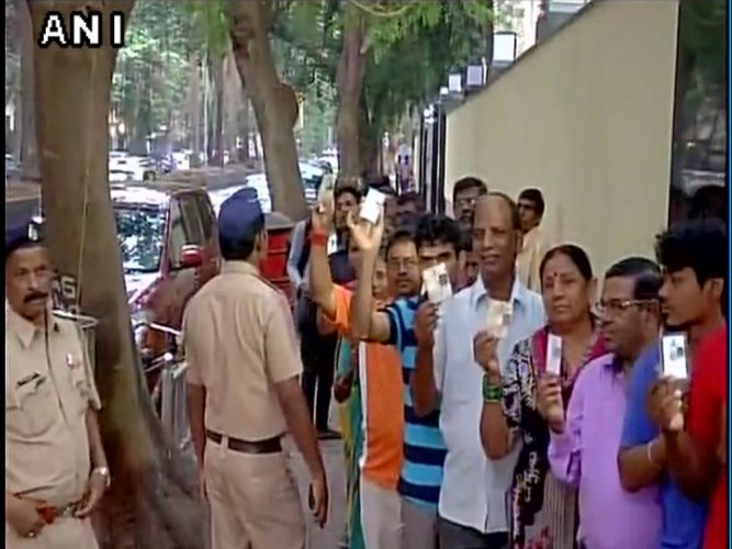 Maha civic polls: 42.8 pc voter turnout till 3.30 pm