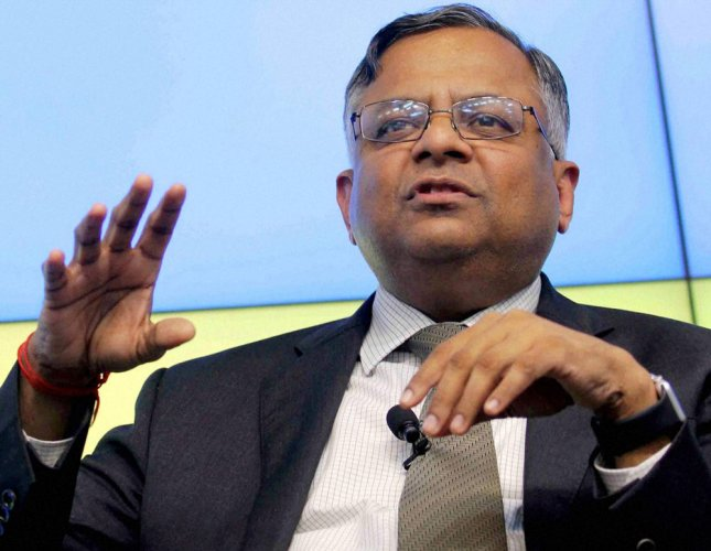 Tatas to take lead in all biz, not trail: Chandrasekaran