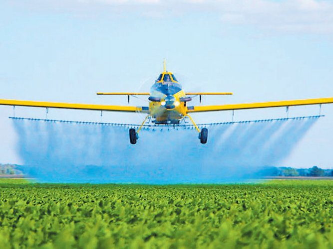 Agriculture from the air: Basant to Air Tractor