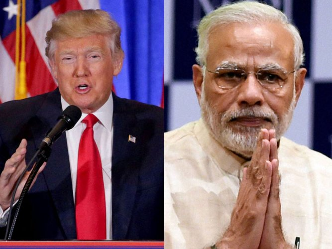 Take balanced view on visa, Modi tells Trump