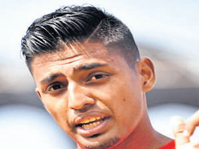 Anto eager to get into the mix