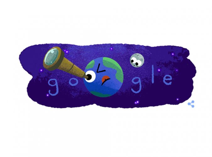 Google celebrates exoplanet discovery with new doodle