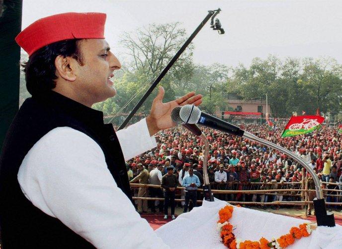 KA for BJP kabutars which will be set free post polls: Akhilesh