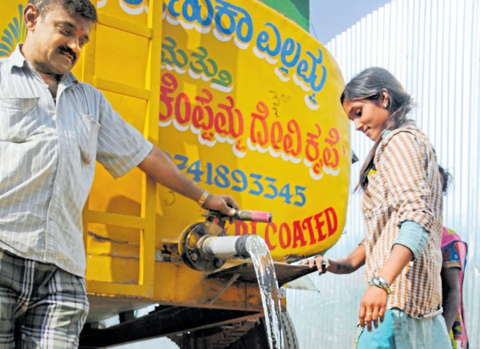 Even before summer, water supply hit in parts of city
