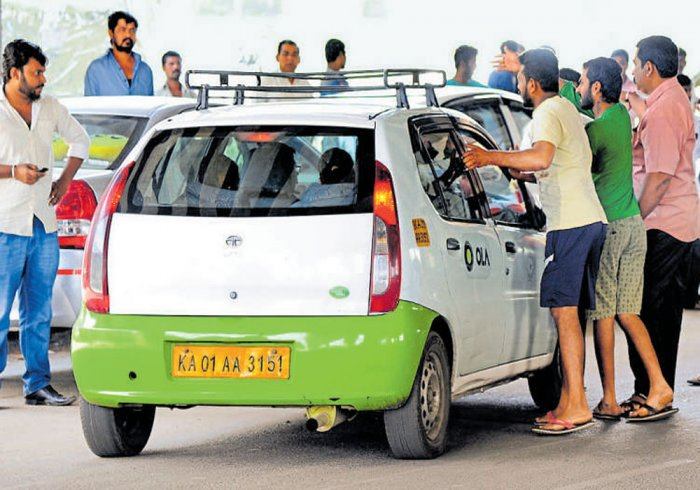 Ola, Uber drivers continue protest,  services crippled in Bengaluru