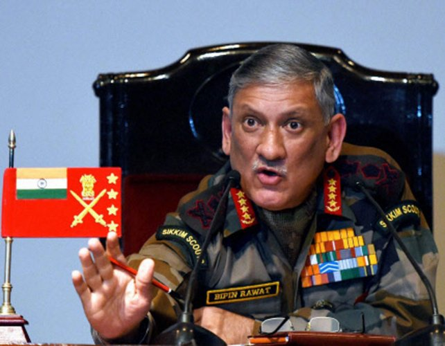 Army chief pays tribute to soldiers killed in Shopian