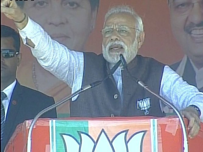 Committed to attack graft: PM after BJP show in civic polls