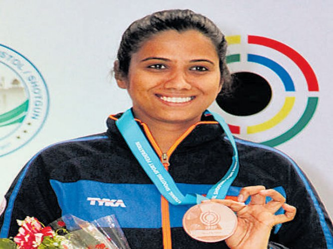 Pooja gets India off to bright start