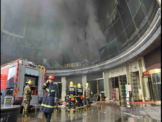 10 killed, 14 injured in hotel fire in China