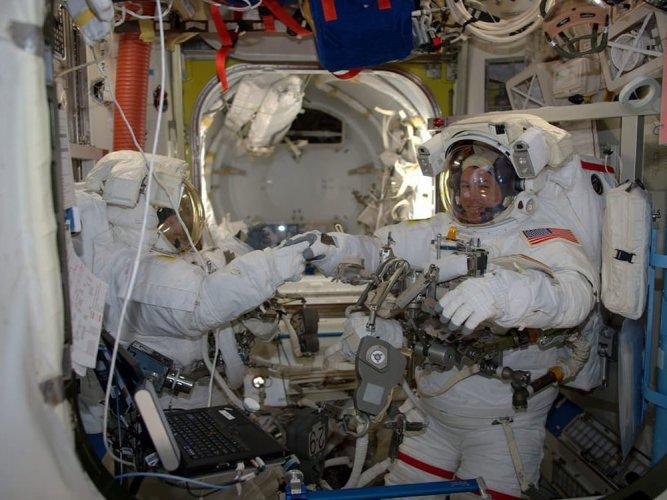 NASA may put astronauts on deep space test flight