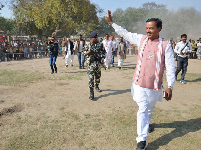 UP BJP chief Keshav Maurya booked for violating poll code