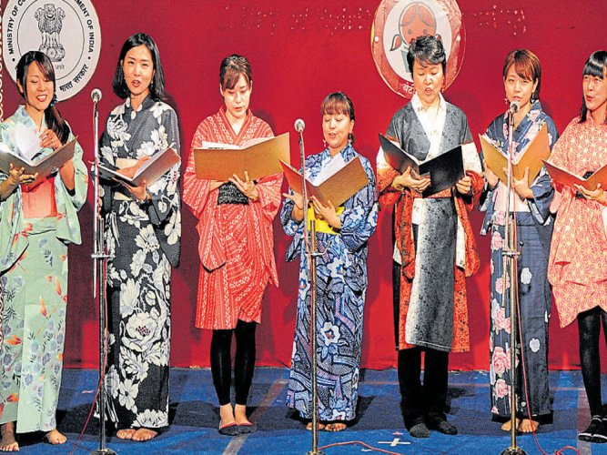 Enthralling show by women from across the world