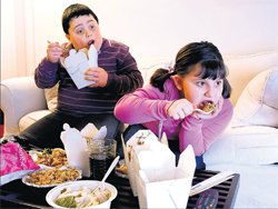 Kids inherit obesity from parents: Research