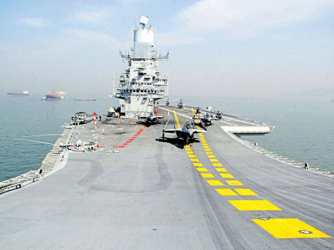 Mega naval drill comes to an end