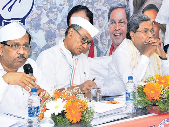 PMO forced I-T department to reopen Govindaraj diary case, says Digvijaya Singh
