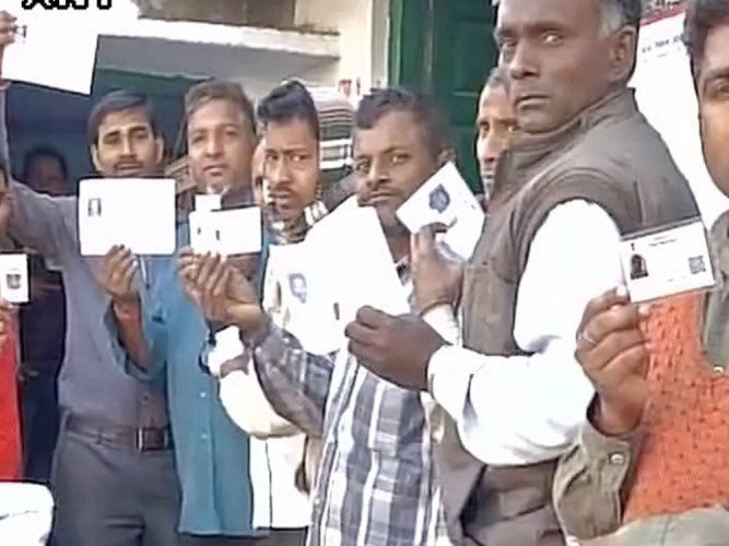 12-13 pc turnout till 10 AM in phase-V of UP polls