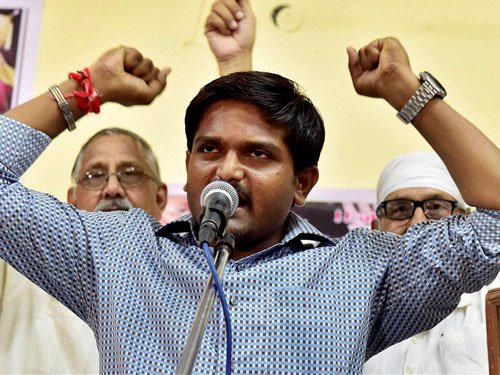 Hardik speaks in Ahmedabad after 1.5 yrs to revive quota stir