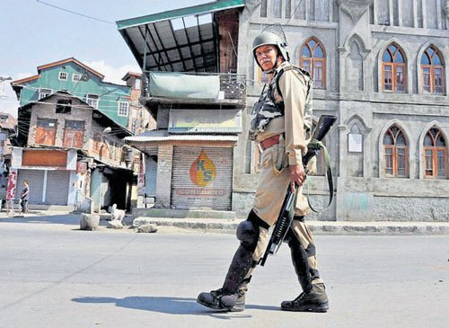 Modified pellet guns to be used in J-K