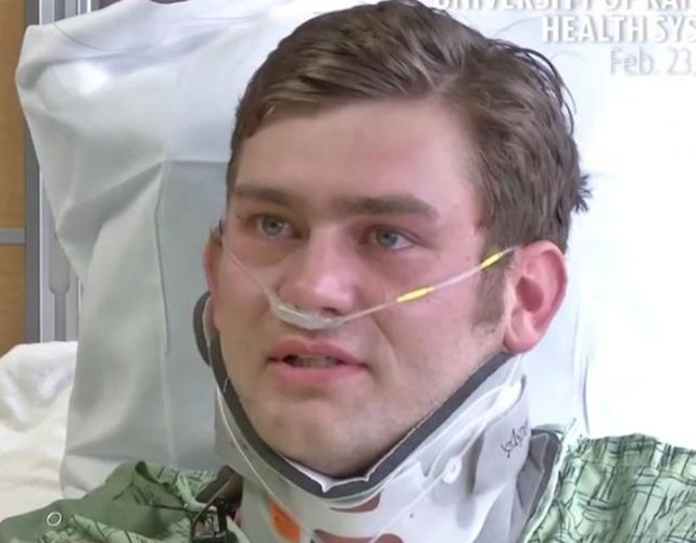 Man who intervened in US shooting says 'happy to risk my life'