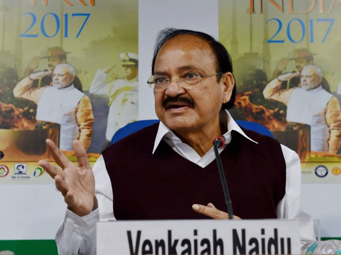 Naidu rubbishes charge of lack of freedom of speech under Modi