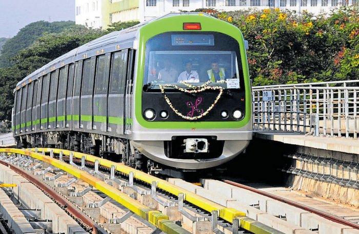 Sampige Road-Yelachenahalli Metro trial run delayed by a week