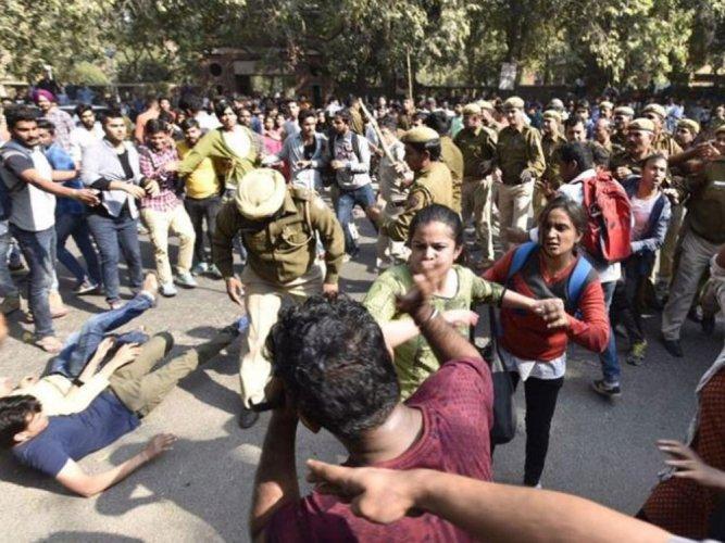 Ramjas issue escalates into war of words between BJP, rivals