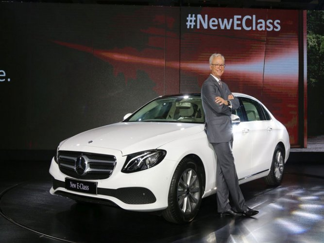 Mercedes launches long wheelbase E-Class priced Rs 69.47 lakh