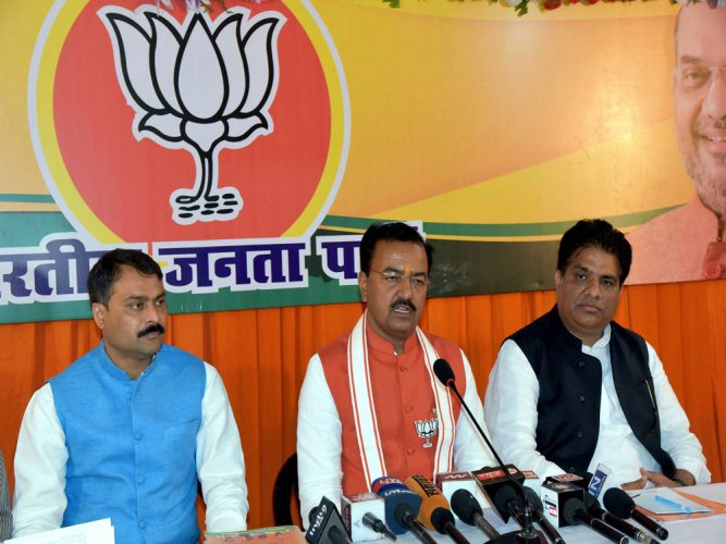 SP, Congress, BSP like 'snakes', 'social cancer': UP BJP chief