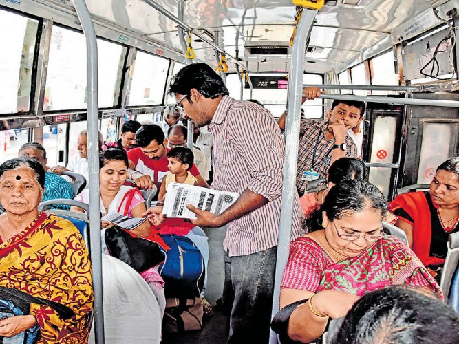 Citizen groups seek cut in city bus fares