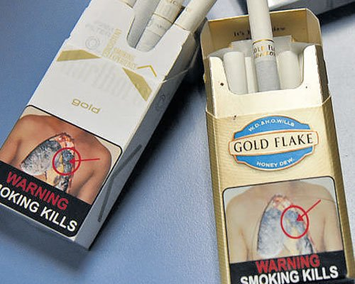 Order on health warning on tobacco packets reserved